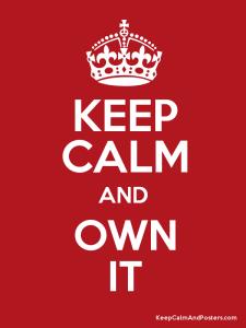 own it