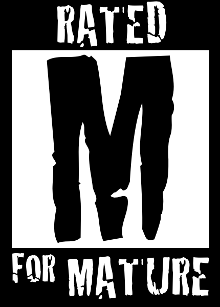 Mature For Rated Logo M